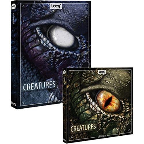 Sound Ideas Creatures Sound Effects Library Bundle (CD+DVD)