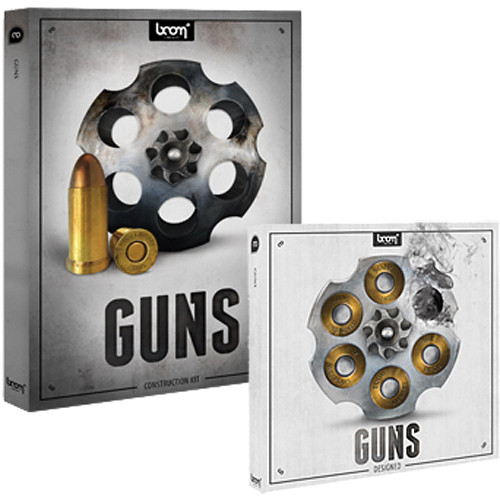 Sound Ideas Guns Sound Effects Library Bundle (DVD)