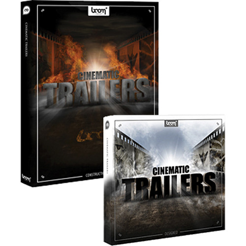 Sound Ideas Cinematic Trailers Sound Effects Library Bundle (CD+DVD)