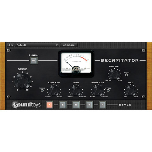SoundToys Decapitator - Analog Saturation Modeler (Native)