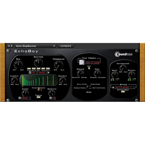 SoundToys EchoBoy - Vintage Delay Plug-In (Native)