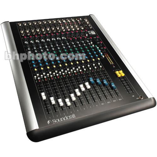 Soundcraft M8 - 8 Channel 4-Bus Mixer