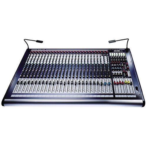 Soundcraft GB4 - 24 Mono Channel Live Sound / Recording Console with 4 Stereo Channels and 4 Group Outputs