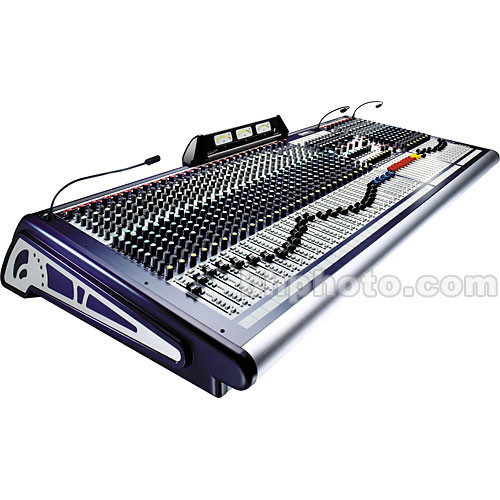 Soundcraft GB8 - 32 Mono, 4 Stereo Live Sound / Recording Console
