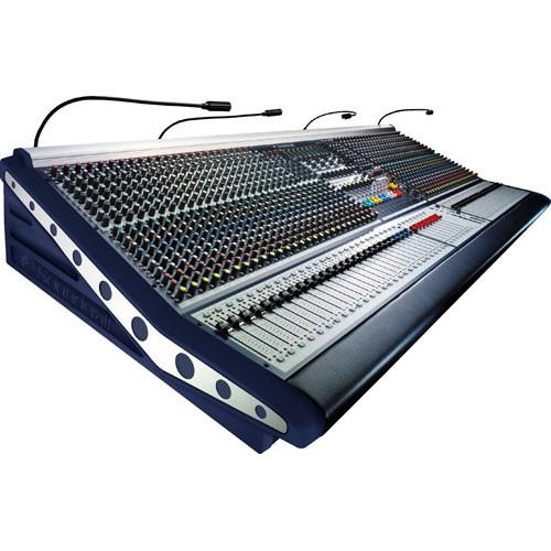 Soundcraft MH2 48 Channel Console - 48 Mono, 4 Stereo, 10 Aux, 8 Groups, 4 Matrix