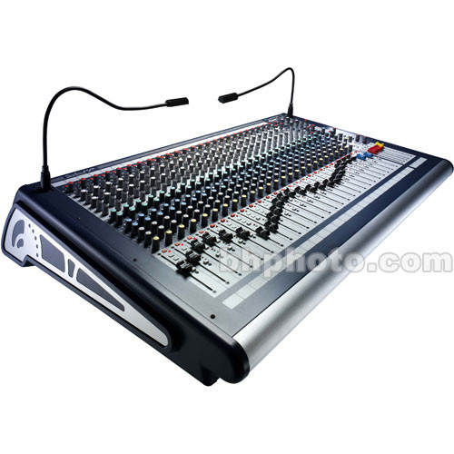 Soundcraft GB2 - 24 Mono Channel Live Sound / Recording Console with 2 Stereo Channels and 2 Stereo Group Outputs