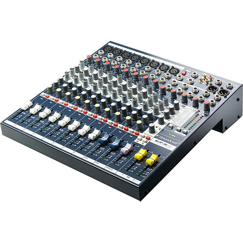 Soundcraft EFX8 - 8 Channel, 2 Bus Audio Mixer with Lexicon Effects Processor