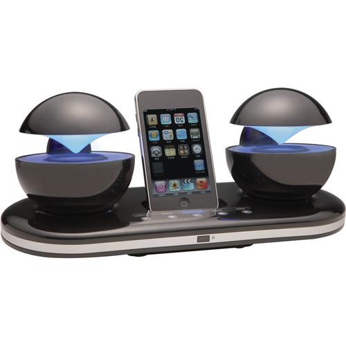 speakal icrystal ipod docking station black icrystal blk 01. Black Bedroom Furniture Sets. Home Design Ideas