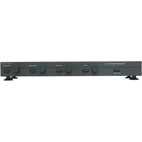 SpeakerCraft 4 Zone Speaker Selector with Volume Control