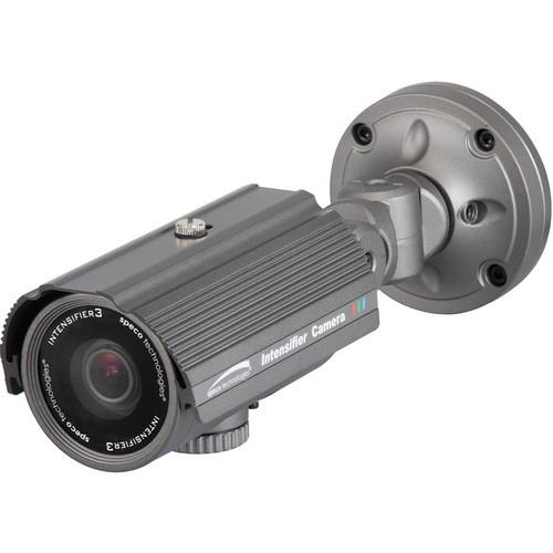 Speco Technologies Intensifier3 Series Day/Night Indoor/Outdoor Turret Camera with 5 to 50mm Varifocal Lens (Dark Gray)