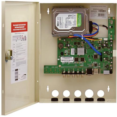 Speco Technologies D4WRS H.264 4-Channel Covert Digital Video Recorder (500GB)