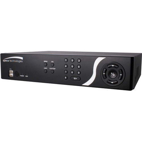 Speco Technologies D8CS 8-Channel DVR with Digital Deterrent (1TB)