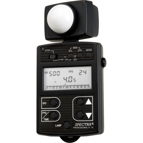 Spectra Cine Professional IV-A Digital Exposure Meter (Black)