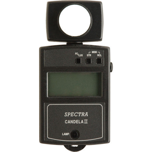 Spectra Cine Candela II-A Illuminance Meter with Backlit Display - Model C-2010EL-A