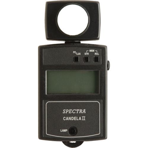 Spectra Cine Candela II-A Illuminance Meter with Backlit Display - Model C-2010EL-A
