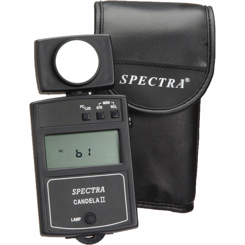 Spectra Cine Candela II Illuminance Meter with Backlit Display - Model C-2010EL
