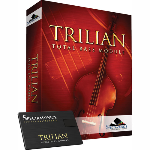 Spectrasonics Trilian 1.5 Total Bass Virtual Instrument (USB Flash Drive)