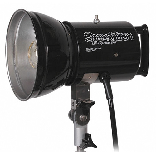 "Speedotron 102 Lamphead with 7"" Reflector"