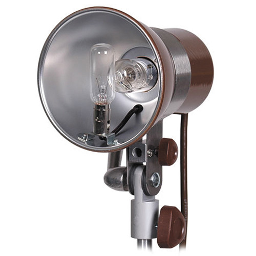 "Speedotron MW3U Brown Line - 400 Watt/Second UV Coated Lamphead with 5.5"" Built-In Reflector"