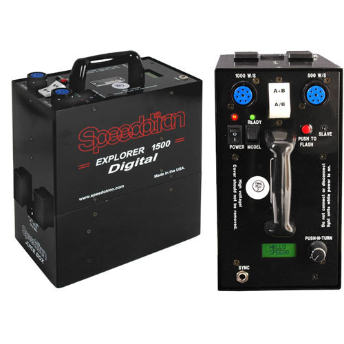 Speedotron Explorer 1500 Digital Portable Power Supply (220V)