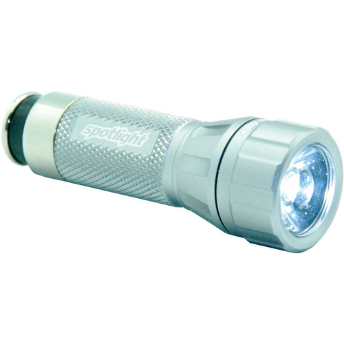 SpotLight Rescue LED Rechargeable Flashlight (Time Machine Titanium)