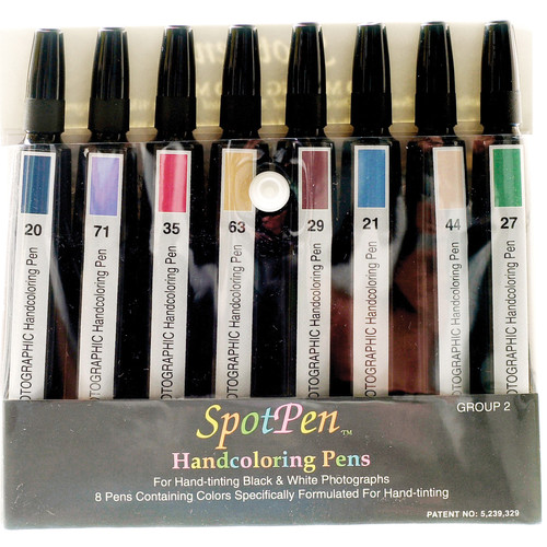 SpotPen Hand Coloring Pen Set Group 2
