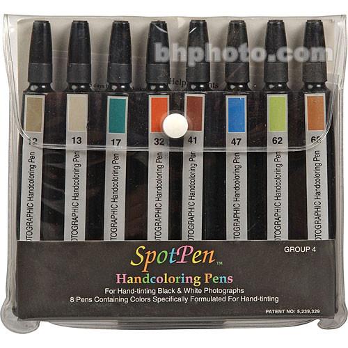 SpotPen Hand Coloring Pen Set Group 4