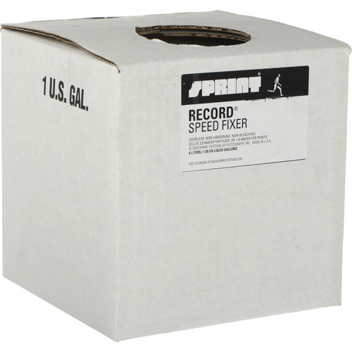 Sprint Systems of Photography Record Speed Fixer for Black & White Film and Paper (Liquid) - 4 Liters