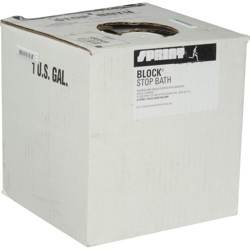 Sprint Systems of Photography Block Stop Bath for Black & White Film and Paper - 4 Liters