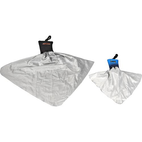 Spudz Micro Fiber Cleaning Cloths Set (2 Pack, Large & Medium)