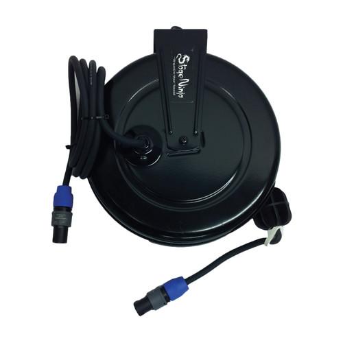 Stage Ninja 40' 16 Gauge Retractable Speaker Cable