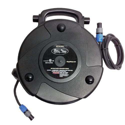 Stage Ninja 58' 14 Gauge Retractable Speaker Cable