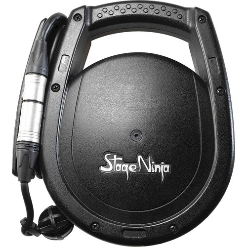 Stage Ninja Retractable 26' XLR Cable