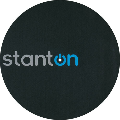 Stanton New Logo Slipmat for DJs