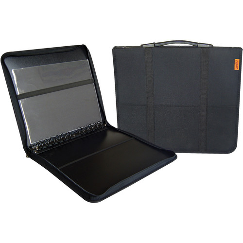 "Start by Prat Start 3 Fabric Presentation Case (8.5 x 11"", 10 Sheets, Black)"