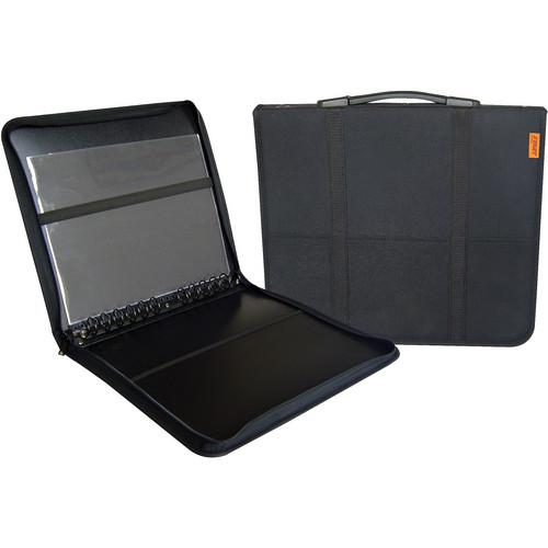 "Prat Start 3 Fabric Presentation Case (17 x 22"", 10 Sheets, Black)"