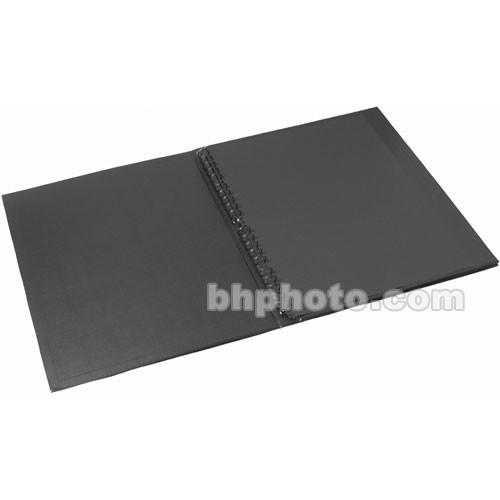 "Start by Prat Display Easel Binder - 11 x 14"" - Black"