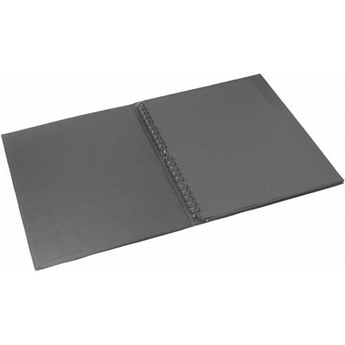 "Start by Prat Display Easel Binder - 14 x 17"" - Black"