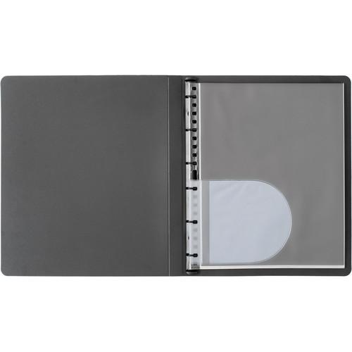 "Start by Prat Spiral Presentation Book/Landscape - 11 x 14"" (Black)"