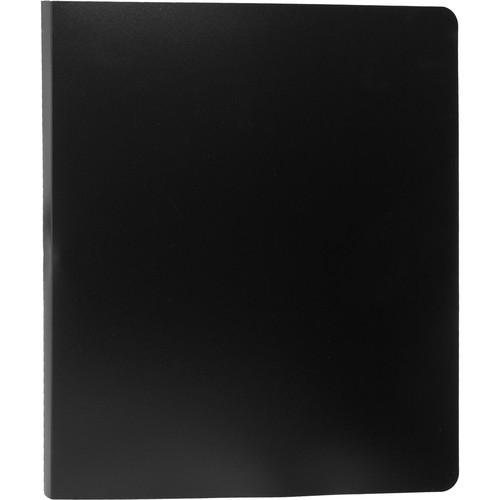 """Start by Prat Spiral Presentation Book - 8.5 x 11"""" - Black"""