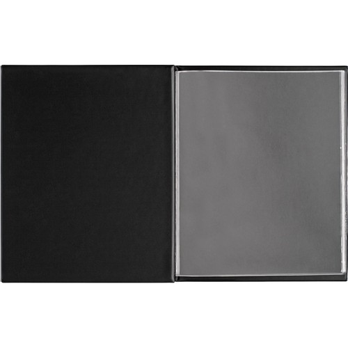"Start by Prat Presentation Press Book - 8.5 x 11"" - Black"