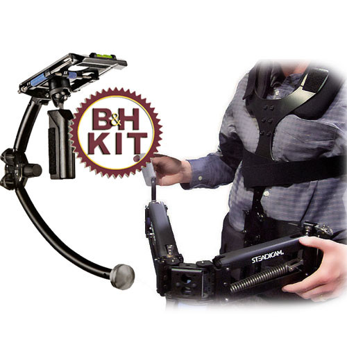 Steadicam Merlin Camera Stabilizing System - with Arm and Vest