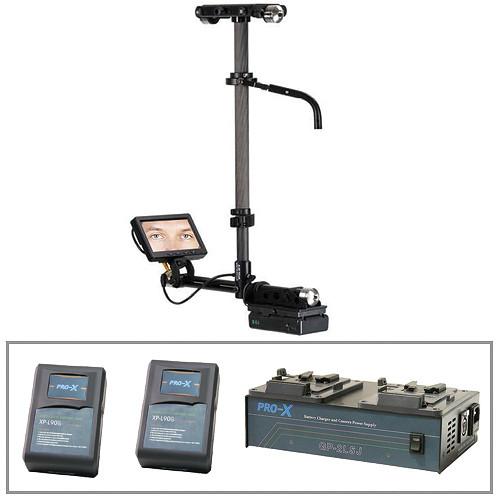 Steadicam Pilot-VL Camera Stabilization System With Batteries & Charger Kit