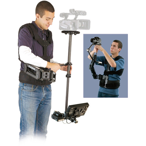 Steadicam Pilot-ABB 2nd Unit Camera Stabilization System W/Battery Charger