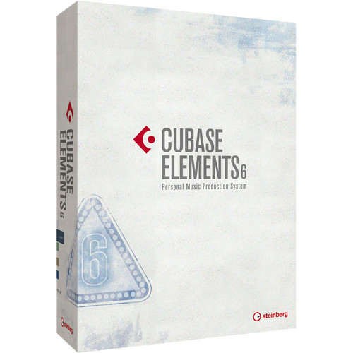 Steinberg Cubase Elements 6 - Music Production Software