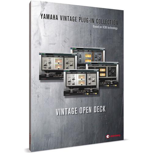 Steinberg Vintage Open Deck - Tape Machine Emulation Plug-In