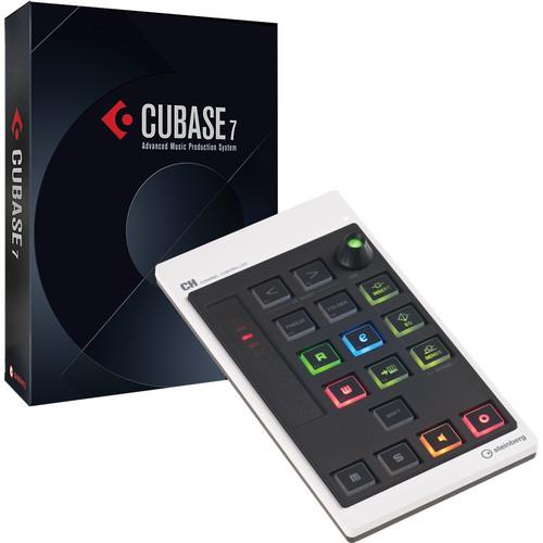 Steinberg Cubase 7 Software & CMC-CH Controller Bundle