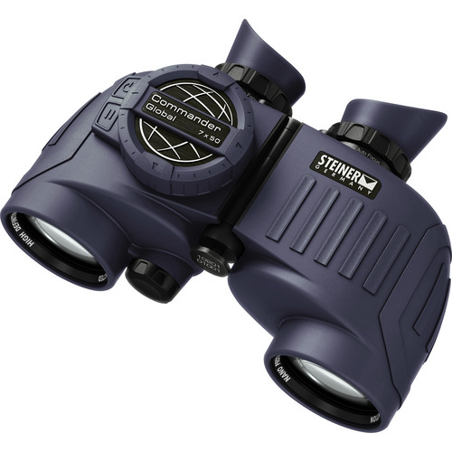 Steiner 7x50 Commander Global Binoculars with Compass