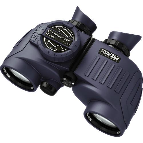 Steiner 7x50 Commander Global Binocular with Compass