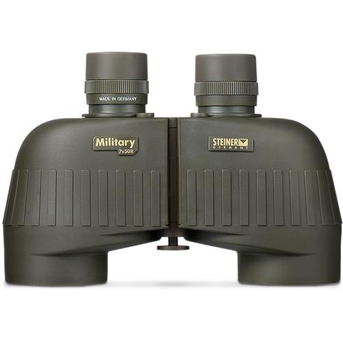 Steiner 7x50 M750r LPF Military Binocular (Mil Reticle)